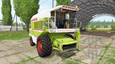 CLAAS Dominator 118 SL v1.1 для Farming Simulator 2017