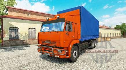 КамАЗ 65117 v1.1 для Euro Truck Simulator 2