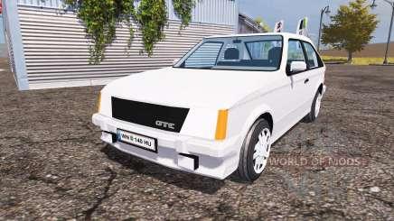 Opel Kadett GT-E (D) для Farming Simulator 2013