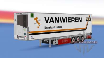 Trailer Chereau Van Wieren для Euro Truck Simulator 2