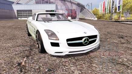 Mercedes-Benz SLS 63 AMG (C197) для Farming Simulator 2013