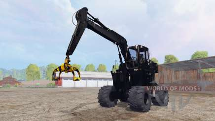 Liebherr A900C logging v4.0 для Farming Simulator 2015