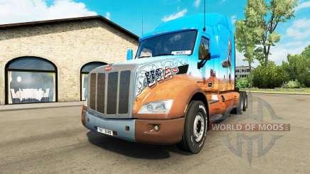 Peterbilt 579 v1.3 для Euro Truck Simulator 2