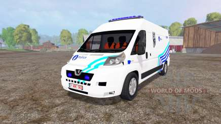 Peugeot Boxer Police v1.1 для Farming Simulator 2015
