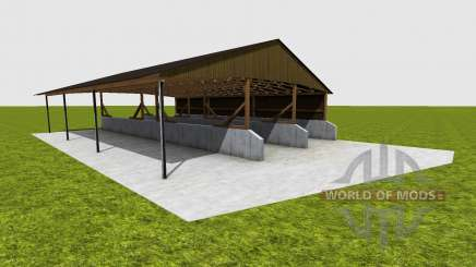 Covered fahrsilo для Farming Simulator 2015
