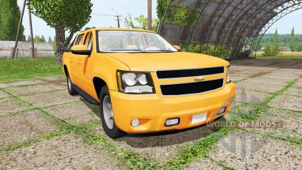 Chevrolet Avalanche (GMT900) для Farming Simulator 2017
