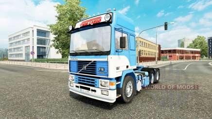 Volvo F16 Nor-Cargo v1.1 для Euro Truck Simulator 2