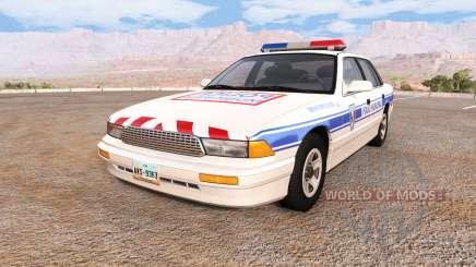 Gavril Grand Marshall police municipale для BeamNG Drive