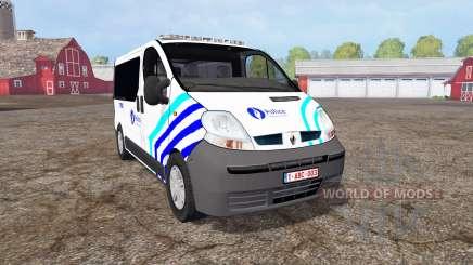Renault Trafic Police для Farming Simulator 2015