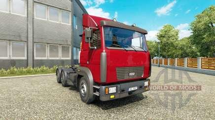 МАЗ 6422М v1.1 для Euro Truck Simulator 2