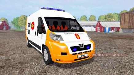 Peugeot Boxer Sedee-Dovo для Farming Simulator 2015