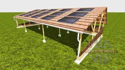 Shelter with solar для Farming Simulator 2015