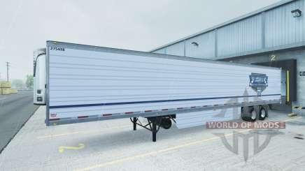 Skin Uncle D Logistics reefer trailer для American Truck Simulator