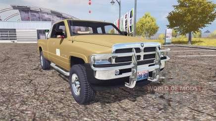 Dodge Ram 1500 для Farming Simulator 2013
