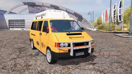 Volkswagen Transporter (T4) service для Farming Simulator 2013