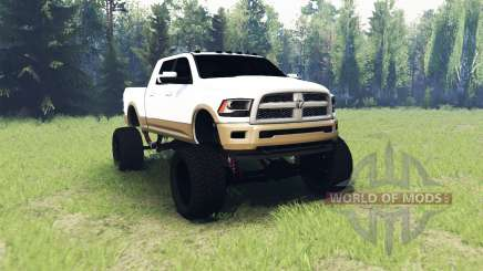 Dodge Ram 2500 Laramie Longhorn для Spin Tires