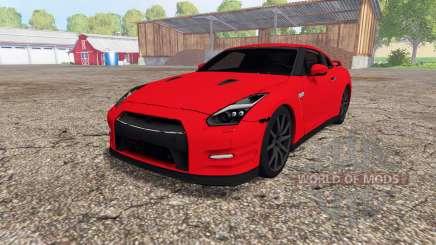 Nissan GT-R (R35) для Farming Simulator 2015