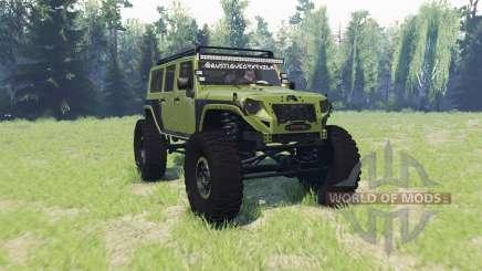 Jeep Wrangler Rubicon для Spin Tires