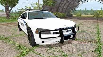 Dodge Charger Sheriff для Farming Simulator 2017