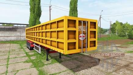 BsM tipper semitrailer для Farming Simulator 2017