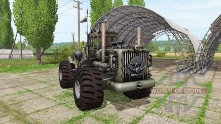 Battle traktor v1.1 для Farming Simulator 2017