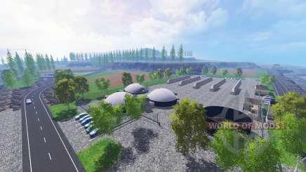 Volcano Iceland v1.3.6 для Farming Simulator 2015