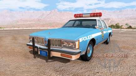 Oldsmobile Delta 88 cop pack для BeamNG Drive