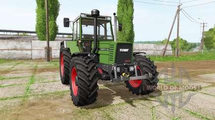 Fendt Favorit 611 LSA Turbomatik E для Farming Simulator 2017