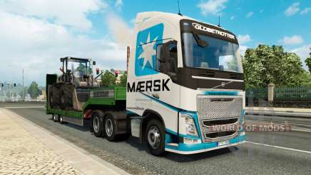 Painted truck traffic pack v2.2.1 для Euro Truck Simulator 2