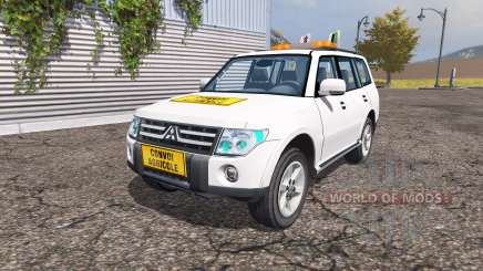 Mitsubishi Montero v2.0 для Farming Simulator 2013