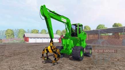 Liebherr A900C passion paysage logging для Farming Simulator 2015