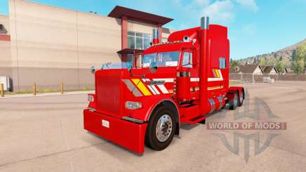 Скин Custom Heavy Haul на тягач Peterbilt 389 для American Truck Simulator