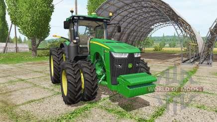 John Deere 8345R v3.0 для Farming Simulator 2017
