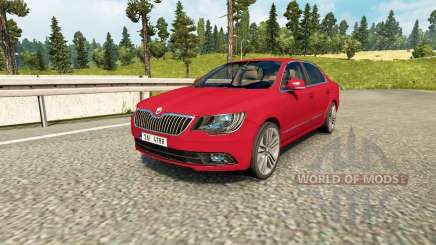 Skoda Superb для Euro Truck Simulator 2