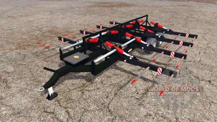 Ritchie bale trailer для Farming Simulator 2015
