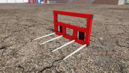 Wiko-Tec ballen gabel для Farming Simulator 2015