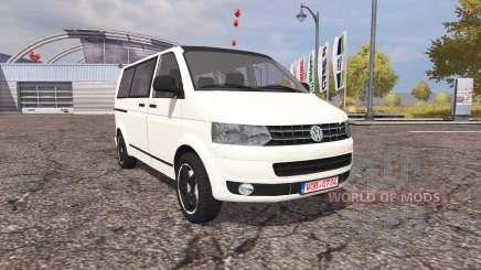 Volkswagen Transporter (T5) v2.0 для Farming Simulator 2013