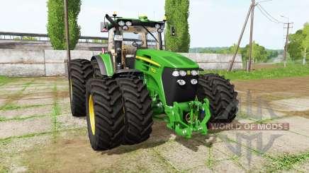 John Deere 7830 v2.2.2 для Farming Simulator 2017