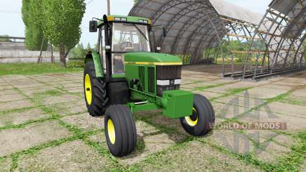John Deere 7800 для Farming Simulator 2017