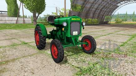 Deutz F1 M414 для Farming Simulator 2017