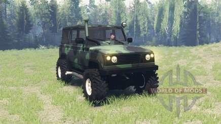 УАЗ 3172 Разведчик v3.0 для Spin Tires