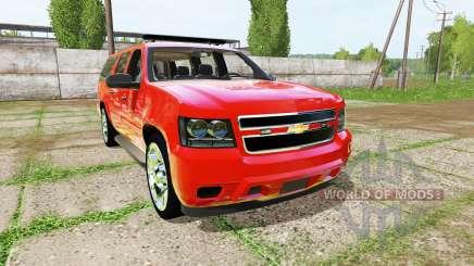 Chevrolet Suburban fire department для Farming Simulator 2017