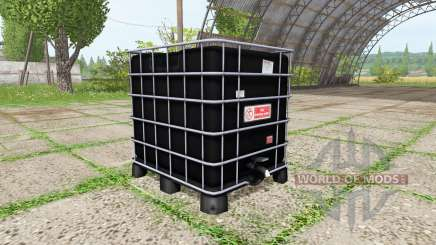 AUER Packaging IBC container water для Farming Simulator 2017