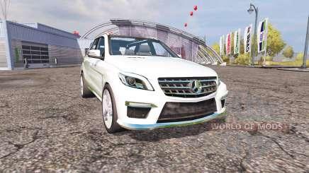 Mercedes-Benz ML 63 AMG (W166) v1.1 для Farming Simulator 2013