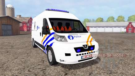 Peugeot Boxer Police для Farming Simulator 2015