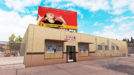 Real billboards v2.0 для American Truck Simulator