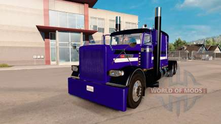Скин Purple Rain на тягач Peterbilt 389 для American Truck Simulator