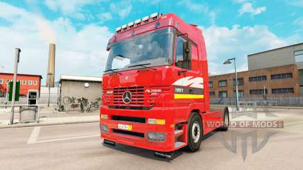 Mercedes-Benz Actros MP1 v2.5 для Euro Truck Simulator 2