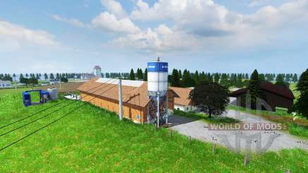 Kleinberghofen v2.0 для Farming Simulator 2013