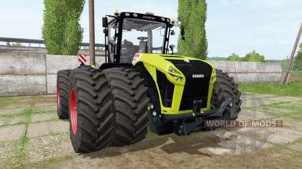 CLAAS Xerion 5000 v1.1.7 для Farming Simulator 2017